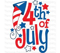 4th of July Sentiments 10 SVG
