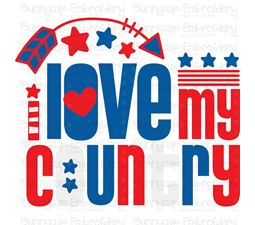 4th of July Sentiments 2 SVG