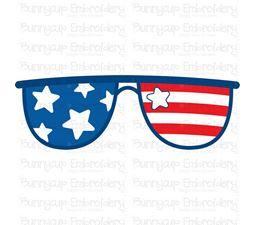 Patriotic Sunglasses SVG