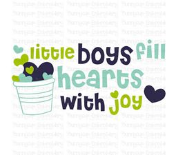 Baby Boy Sentiments 5 SVG