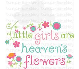 Baby Girl Sentiments 5 SVG