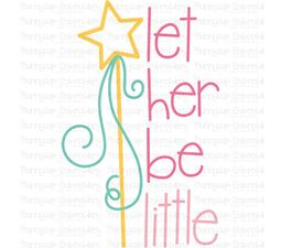 Baby Girl Sentiments Too 10 SVG