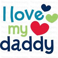 Dear Daddy SVG