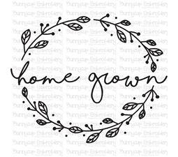 Home Grown SVG