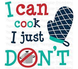 In My Kitchen Sentiments 12 SVG