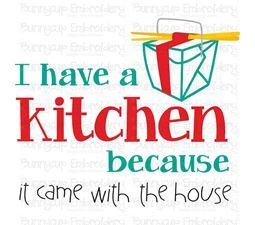 In My Kitchen Sentiments 4 SVG