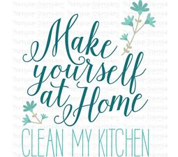 In My Kitchen Sentiments Four 3 SVG