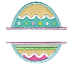 Split Easter Applique 1