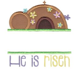 Split Easter Applique 11