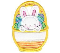 Split Easter Applique 12
