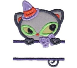 Split Halloween Applique 10