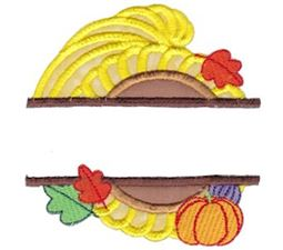 Split Thanksgiving Applique 7