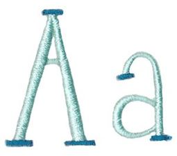 Stand Tall Alphabet A