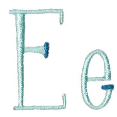 Stand Tall Alphabet E