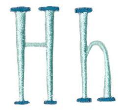 Stand Tall Alphabet H