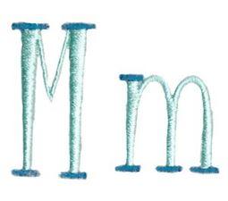 Stand Tall Alphabet M