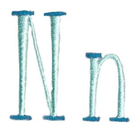 Stand Tall Alphabet N