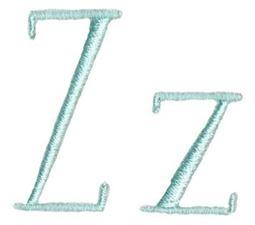 Stand Tall Alphabet Z