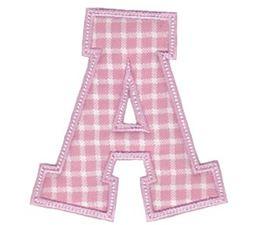Sweet Greek Alphabet Applique 1