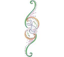 Swirly Easter 1