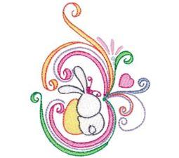 Swirly Easter 2