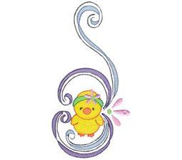 Swirly Easter 5