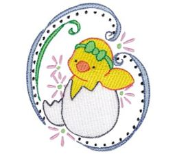 Swirly Easter 6
