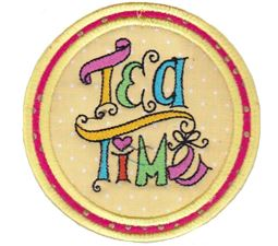 Tea Time Coasters 14