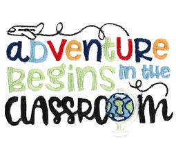 Adventure Begins In The Classroom