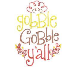 Gobble Gobble Y