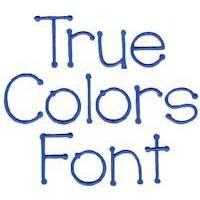 True Colors Font