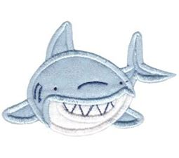 Whales and Sharks Applique 10