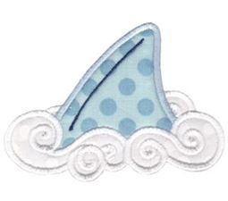 Whales and Sharks Applique 13