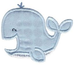 Whales and Sharks Applique 4