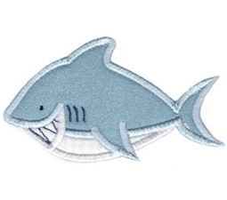 Whales and Sharks Applique 9