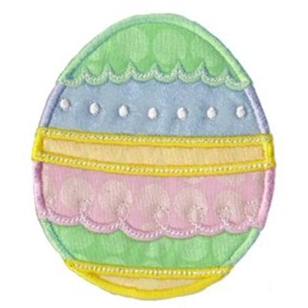 A Cute Easter Applique 13