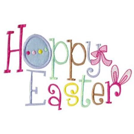 A Cute Easter Applique 15