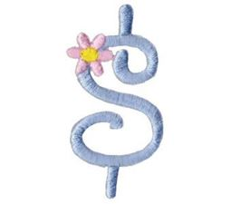 A Daisy Day Alphabet Character 8