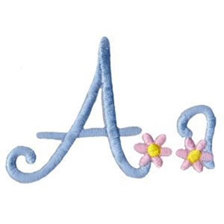 A Daisy Day Alphabet A