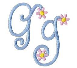 A Daisy Day Alphabet G