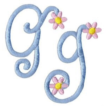A Daisy Day Alphabet G