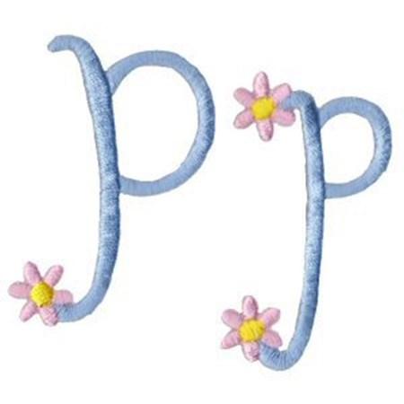 A Daisy Day Alphabet P