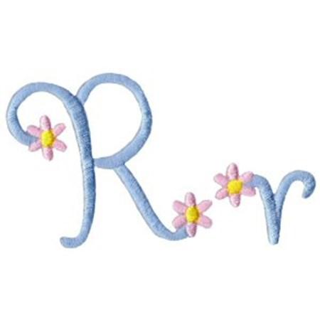 A Daisy Day Alphabet R