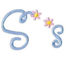 A Daisy Day Alphabet S