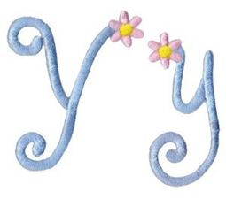A Daisy Day Alphabet Y