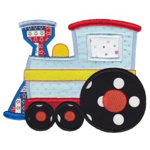 All Aboard Applique 1