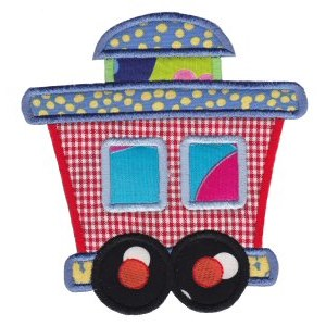 All Aboard Applique 13