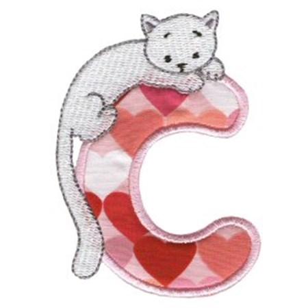 Animal Alphabet Applique c