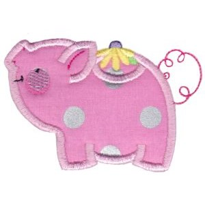 Animal Teapots Applique 10