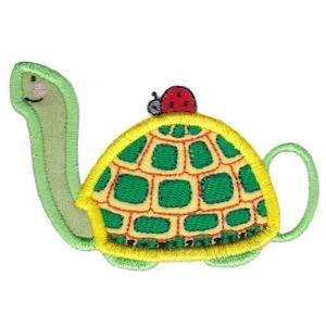 Animal Teapots Applique 14